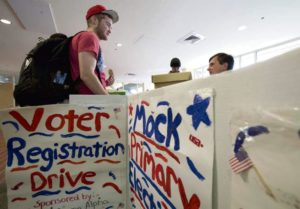Voters recently turned out for the primaries in states across the nation. Photo from triblive.com.