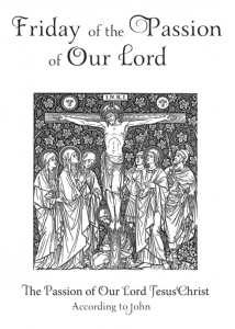 Service of the Passion of Our Lord (Livestream)