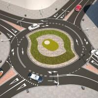 Solución para reducir los accidentes de circulación en las rotondas