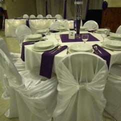 Chair Covers Hamilton Ontario Steel With Cushion Price Head Table Icicle Lights Set The Mood Decor
