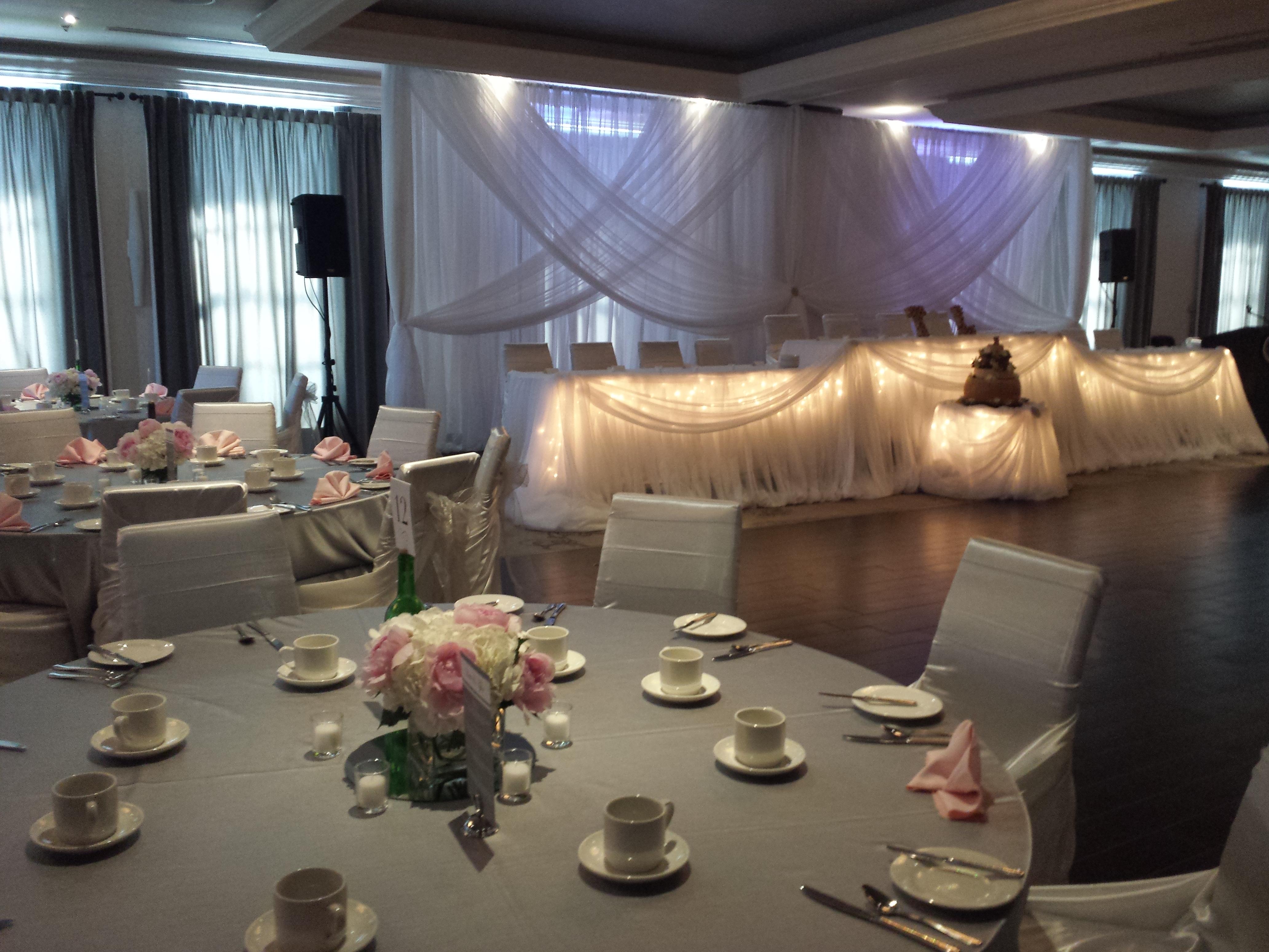 chair covers hamilton ontario free desk white satin set the mood decor