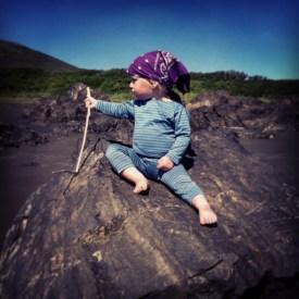 Bea our little explorer!