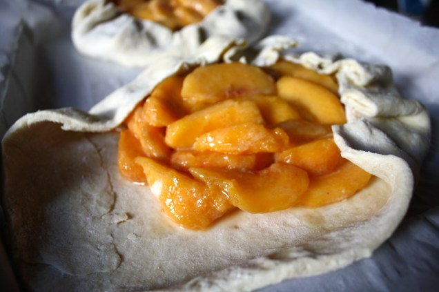 peach fllled pastry