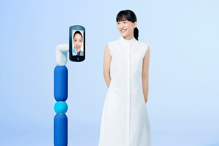 ANA's Newme Robot Empowers the Disabled and Elderly