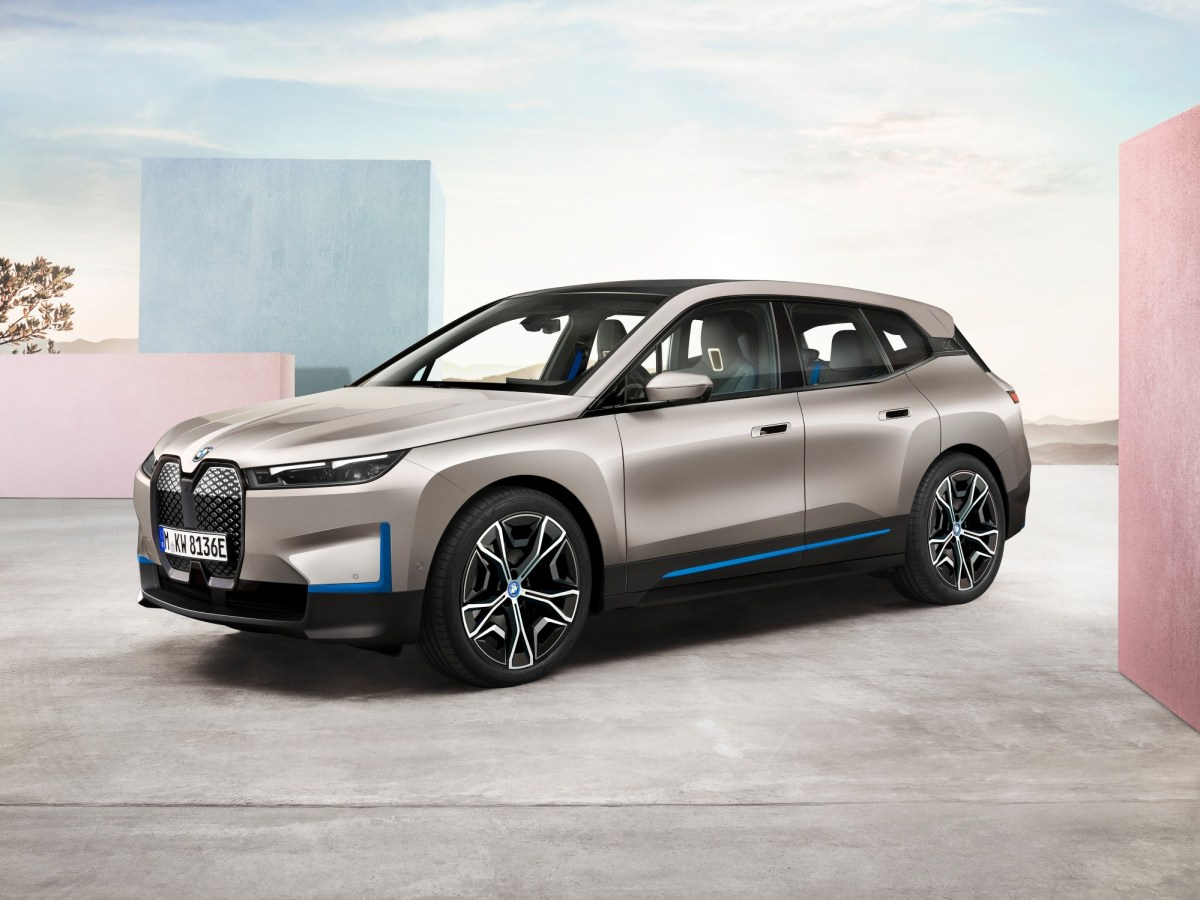 BMW Unveils iX, an All-Electric Vehicle Made for the Future