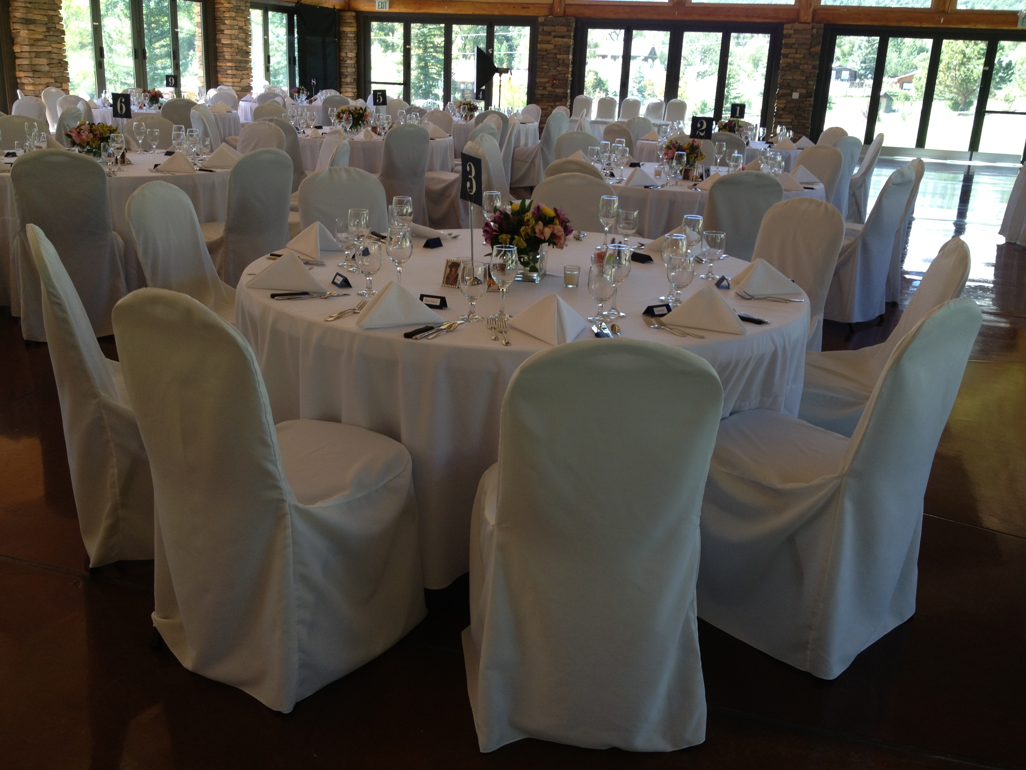 Chair Covers Rental Colorado Wedding Settings Event Rental