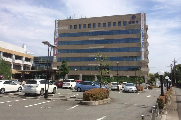 摂津市役所 正面