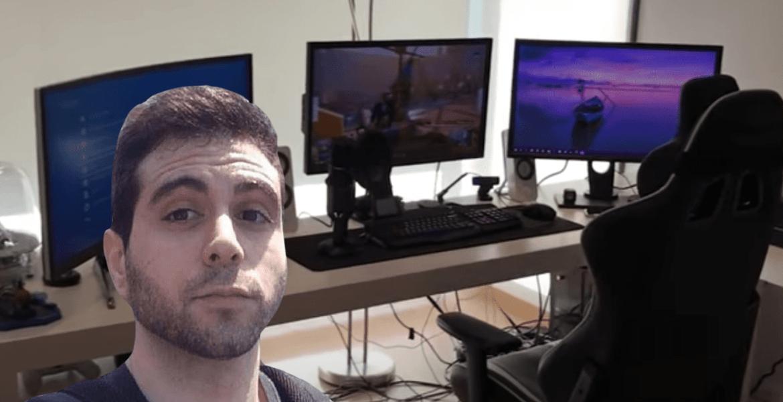 El setup gamer de Vegeta777, conoce donde ocurre la magia