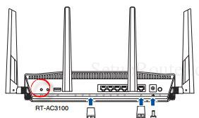 Asus RT-AC3100 Asuswrt-Merlin Screenshot reset