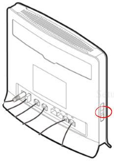 Huawei B593 Reset