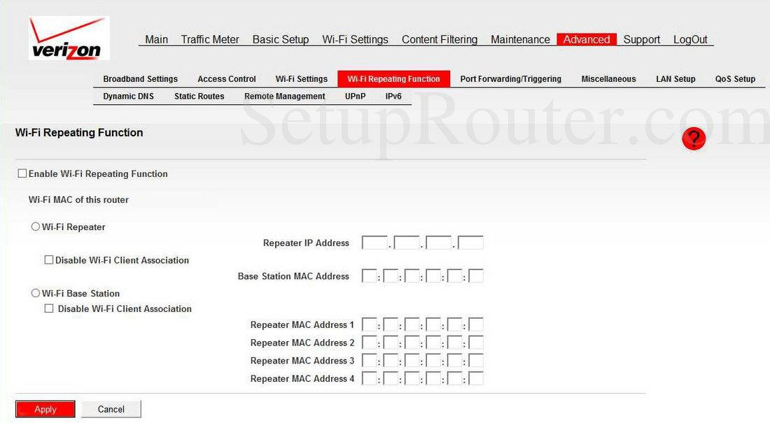 Verizon MBR1515LVW Screenshot Wi Fi Repeating Function