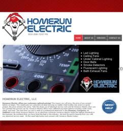 home run electrical contractors [ 1100 x 825 Pixel ]