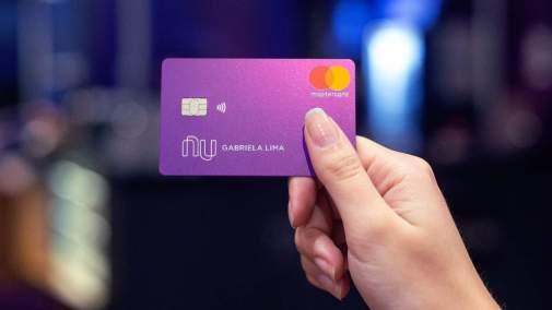 Cartão de crédito da Nubank.