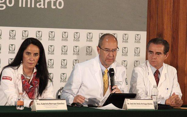 Código infarto del IMSS, el de mayor cobertura de América latina