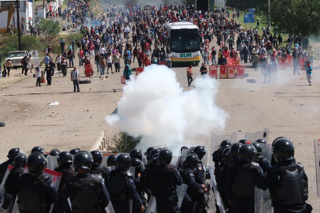 Policía Federal acusa infiltrados en hechos de Oaxaca