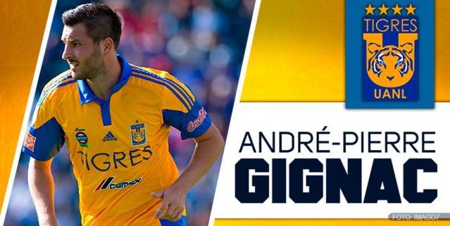 Gignac, mejor jugador de la Liga MX