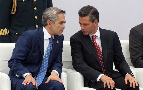 Mancera invita a Peña Nieto a discutir temas ambientales de la CDMX