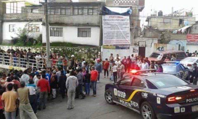 Policías capitalinos evitan linchamiento en Cuajimalpa