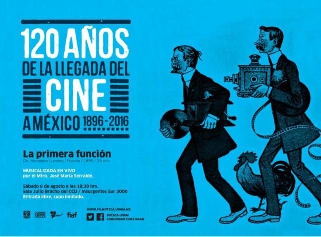 Filmoteca de UNAM festejó 120 años de cine en México