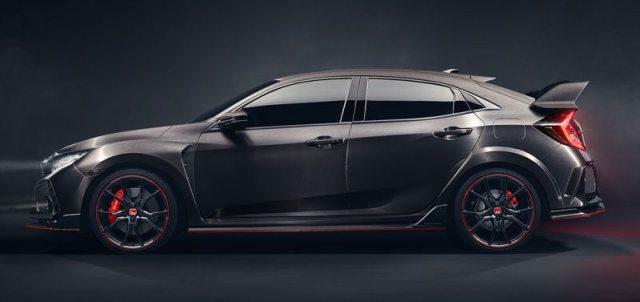 Civic Type R Concept el nuevo deportivo de honda