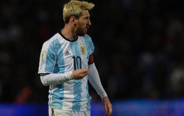 Messi será baja ante Venezuela por lesión