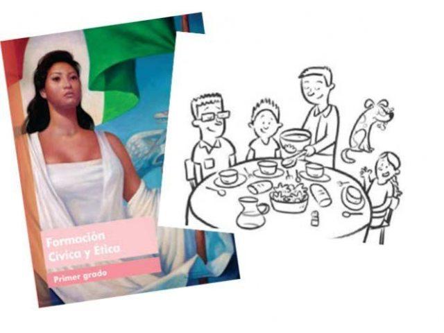 Asociación asegura que los dibujos en libros de SEP inducen a conducta gay