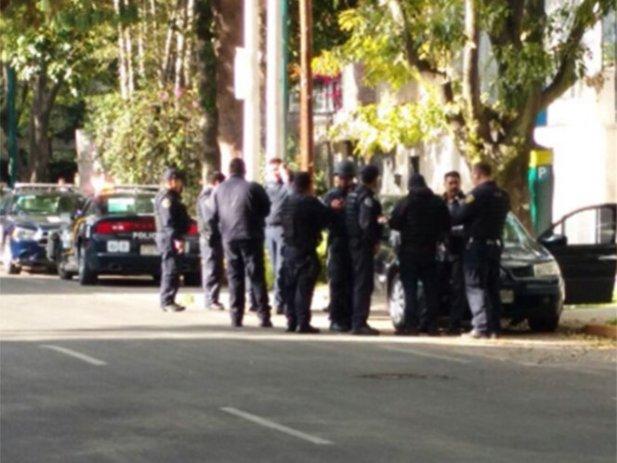 Guaruras frustran asalto en calles de Polanco