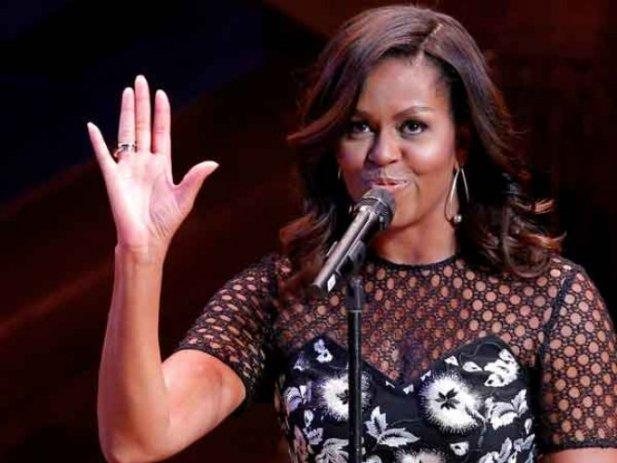 'Necesitamos un adulto en la Casa Blanca': Michelle Obama
