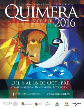 Anuncian vigésima sexta edición del Festival Internacional de Arte y Cultura #Quimera2016