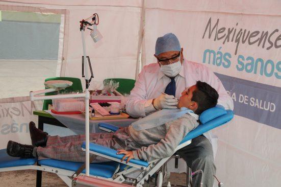 Aplica ISEM 509 mil tratamientos odontológicos a niños mexiquenses