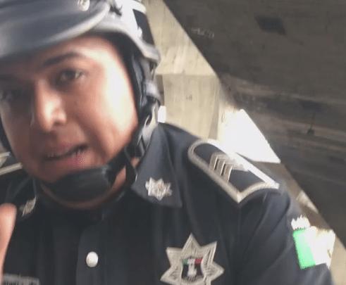 Policía de Naucalpan que golpeó a automovilista en Edomex, fue destituido