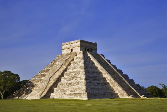 La zona arqueológica de Chichén Itzá fue inscrita en la lista del Patrimonio de la Humanidad por la Unesco en 1988. En junio de 2007, el Templo de Kukulcán, fue reconocido como una de las Las nuevas siete maravillas del mundo moderno. Foto: Cortesía