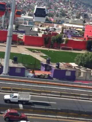 Por encima, dan una maquillada a la marginación en Ecatepec, solo para el presidente
