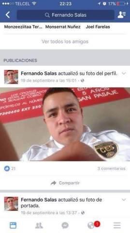 Policía defiende a ladrón a través de redes sociales