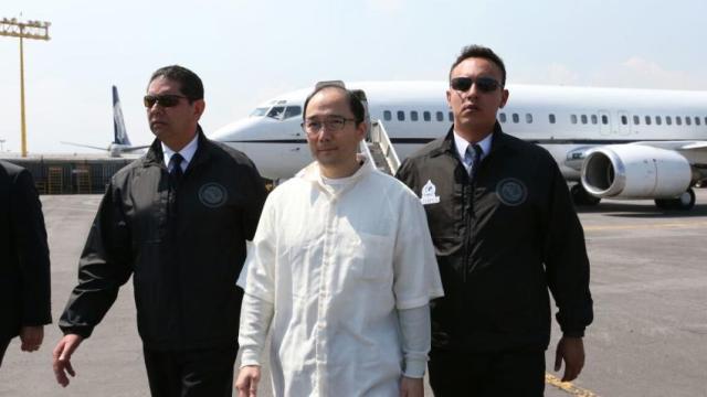Zhenli Ye Gon esta de regreso en México