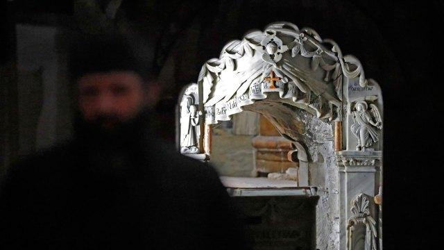 Desentierran tumba de Jesucristo y mira lo que encontraron