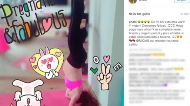 anahi_embarazada_yoga