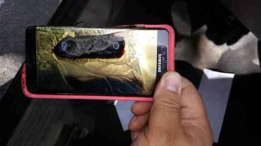 Samsung ya acepta devoluciones por baterías explosivas