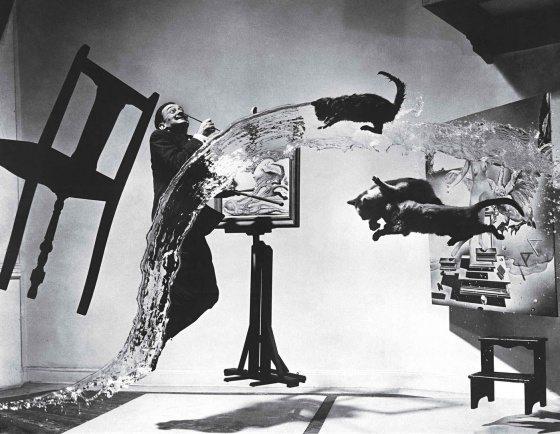 El artista Eugenio Salvador Dalí se alió en 1948