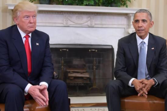 """Obama dice que él y Trump tuvieron una """"excelente"""" conversación"""