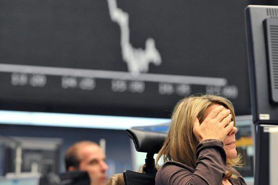 Los mercados se desploman con los primeros resultados de EE.UU.