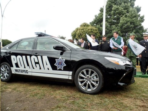 Refuerza Metepec estrategía de seguridad con 30 nuevas patrullas