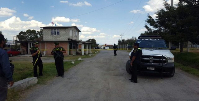 Dos muertos tras balacera en Almoloya de Juárez