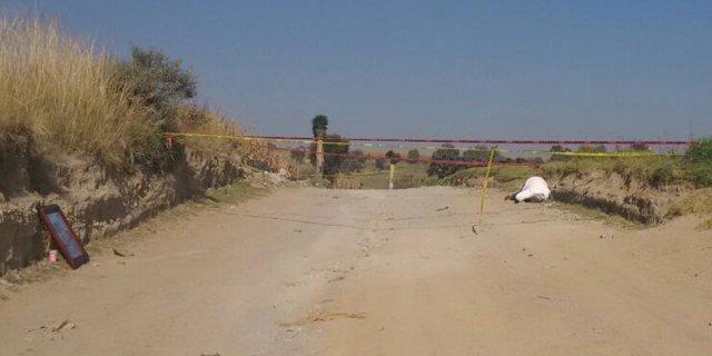 Ejecutan a un hombre en Calimaya, Estado de México