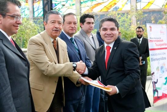 Entrega Toluca Premio Municipal del Emprendedor