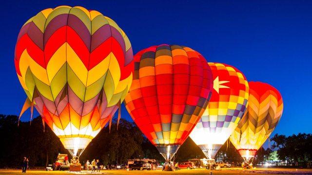 Listo el globo aerofest Metepec 2016