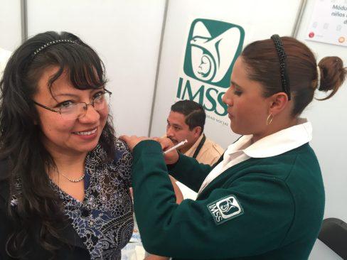 IMSS poniente exhorta a vacunarse contra la influenza