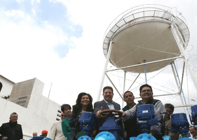 Entrega alcalde de Metepec renovado pozo de agua con inversión de casi 4.3 mdp