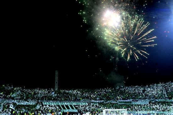 Estadio de final se rindió en homenaje al Chapecoense