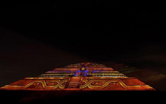 """""""Experiencia Nocturna"""" en Teotihuacán tendrá un día más a la semana"""